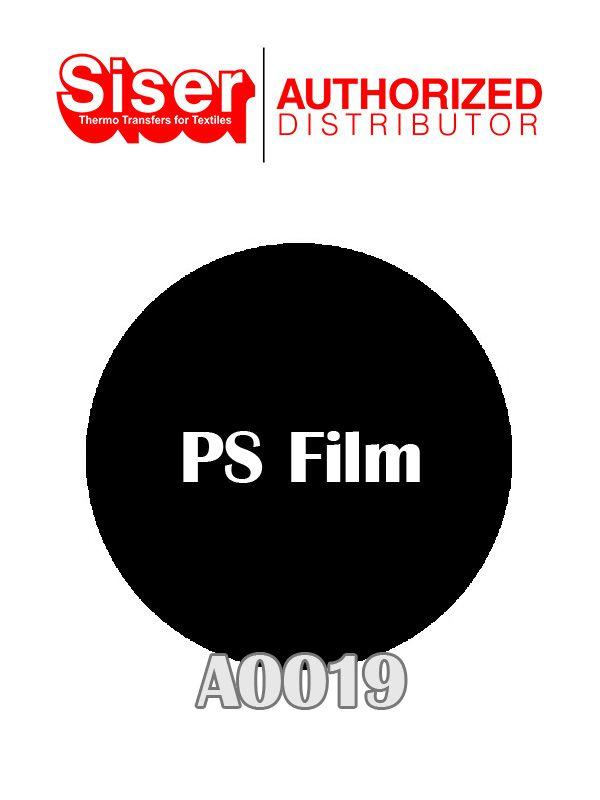 PS FILME PRETO 50X50 CM A0019 - SISER