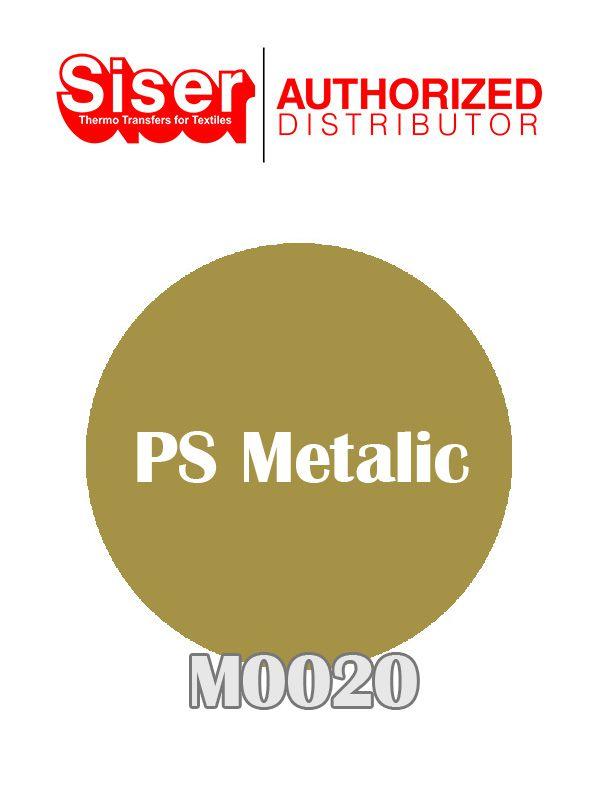 PS METALIC DOURADO 50X50 CM M0020 - SISER