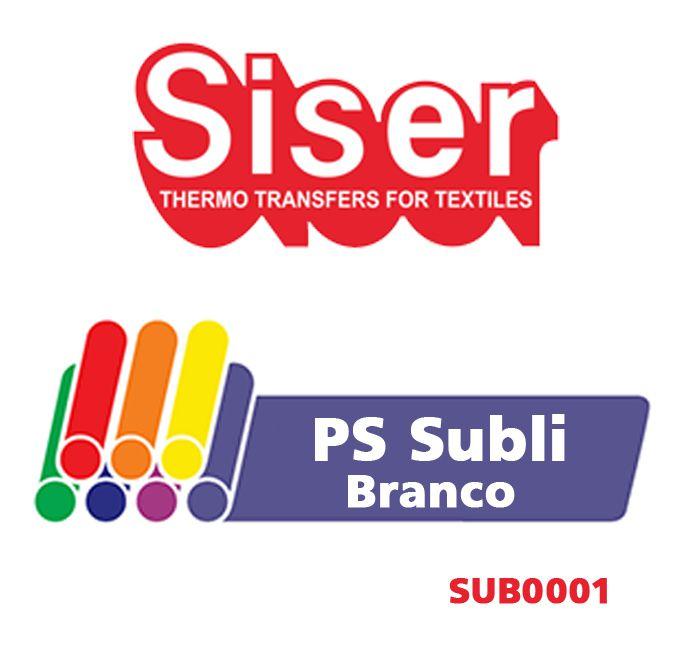 PS SUBLI BRANCO 50X50 CM SUB001 BLOQUEADOR - SISER