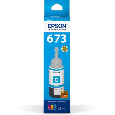 REFIL DE TINTA T673220 CIAN - EPSON