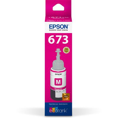 REFIL DE TINTA T673320 MAGENTA - EPSON