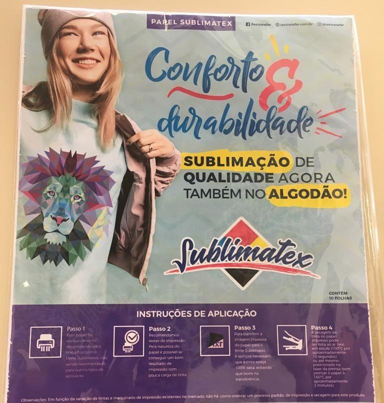 SUBLIMATEX FILME 30X50 CM - UNIDADE