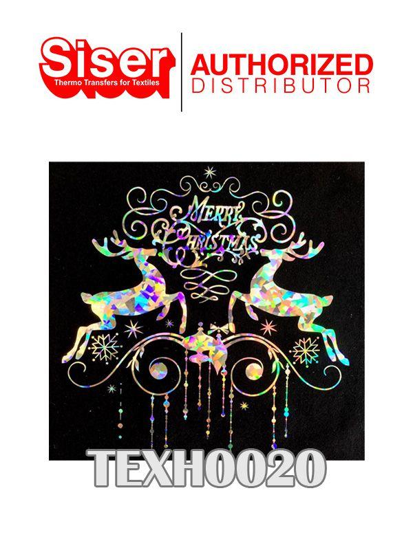 TEX HOLO 50X50 CM - TEXTRANSFER - CRISTAL DOURADO TEXH0020