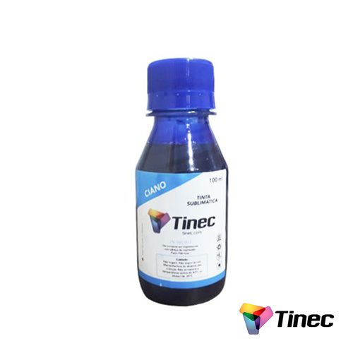 TINTA SUBLIMÁTICA CIANO 100ML - TINEC