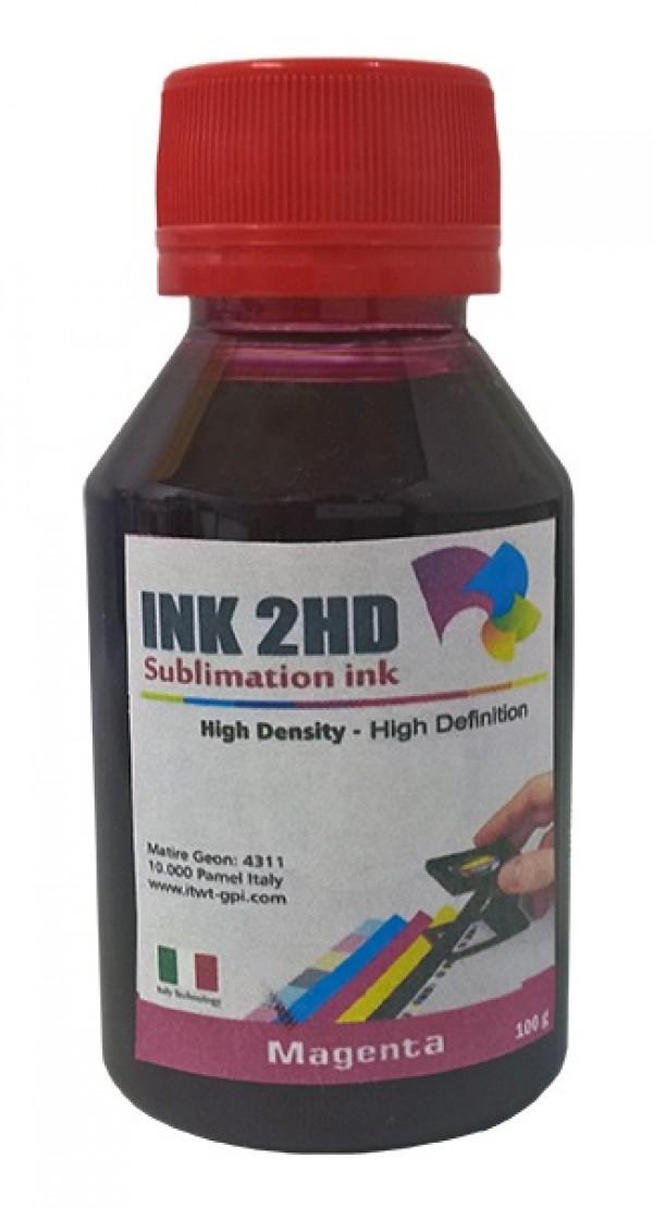 TINTA SUBLIMATICA INK2HD MAGENTA 100ML