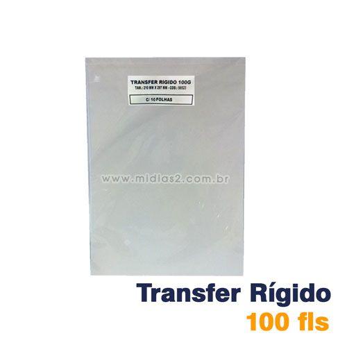 TRANSFER A4 LASER 100G PARA RÍGIDOS - 100 FLS