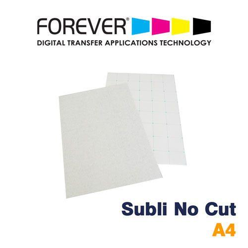 TRANSFER A4 SUBLI NO CUT GLITTER PARA ALGODÃO CLARO - FOREVER - 1 FL