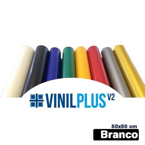 VINIL PLUS 2.0 BRANCO 50X50 CM - TXT