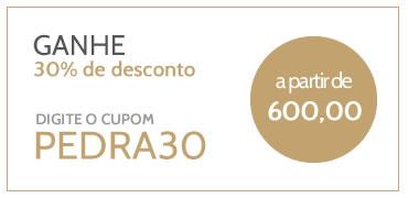 desconto de 30% a partir de 600 reais