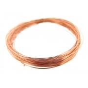 4m Fio cabelo de anjo folheado em Ouro Rosê 0.25 RF-FI07