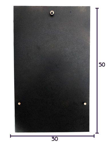 Quadro Elemento Fogo - 50x30cm MDF
