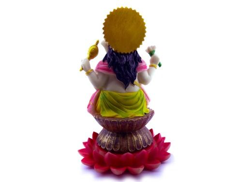 Imagem Ganesha Deus Hindu - 24x15cm Resina