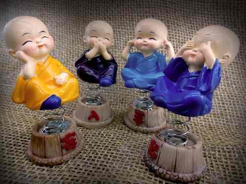 Kit Mini Budas - Balançando 4 Peças