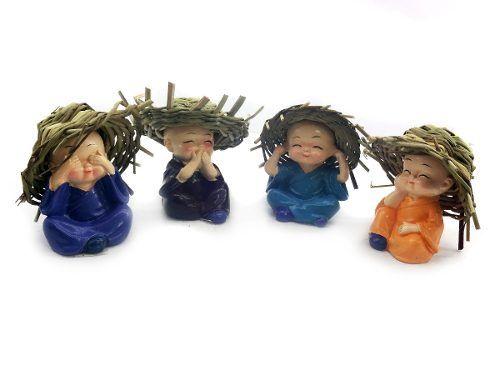 Conjunto Monge com Chapéu 4 Peças