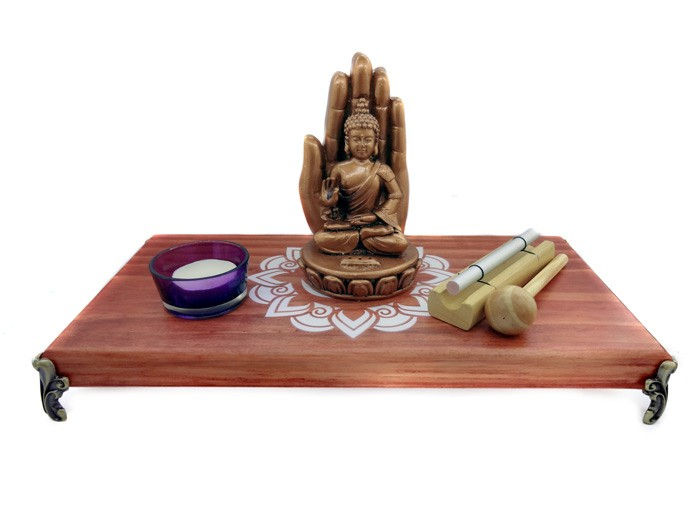 Altar de Madeira Combo Mandala 3