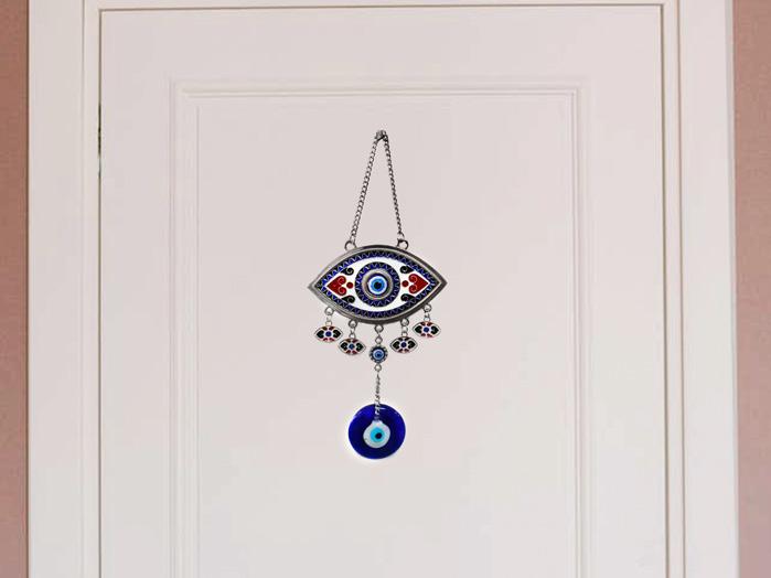 Amuleto Olho Grego Ou Olho Turco De Parede