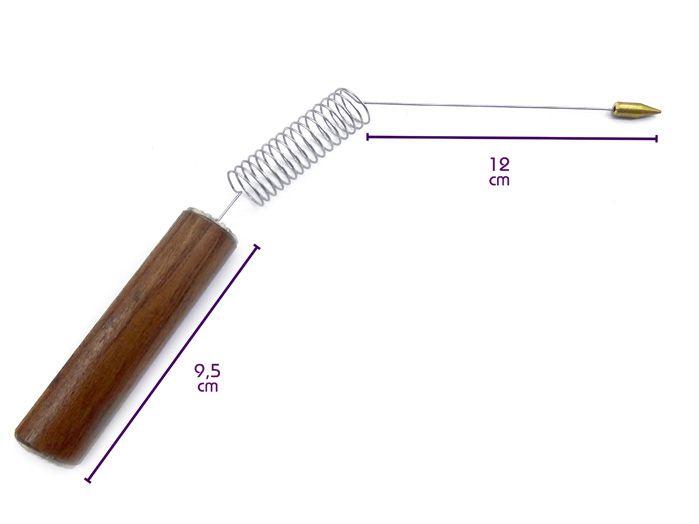 Aurameter Aurímetro Medição Da Aura Radiestesia 15 X 6 cm