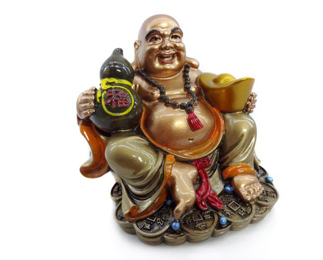 Imagem Buda da Fartura - 10cm  Resina