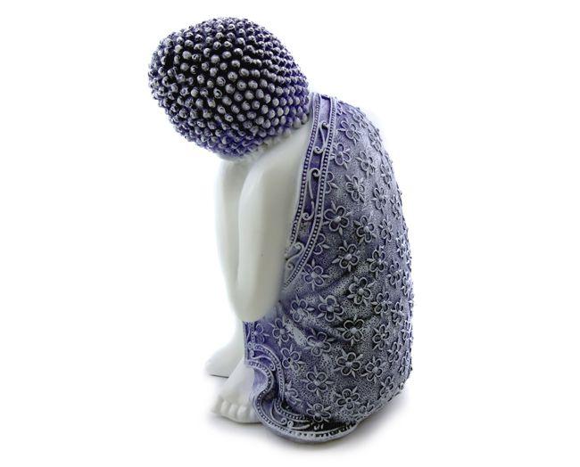 Buda Dormindo - Imagem Resina 22x14cm