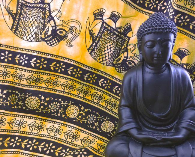 Buda Hindu  Imagem Resina 24x15cm