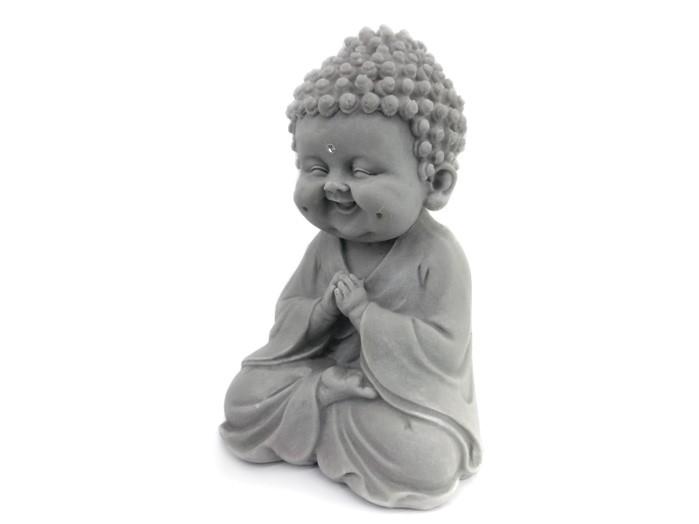 Buda Sorrindo Pó de Marmore