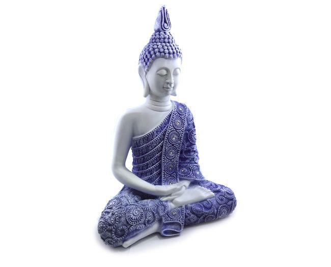 Buda Tailandês - Imagem Resina 32 x 22 cm