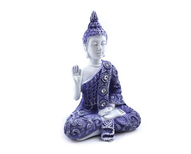 Buda Hindu Tailandês - Resina 11x8