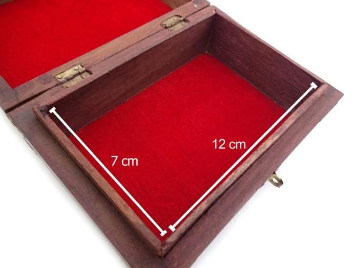 Caixa Porta Baralho Madeira 15 cm Pequena
