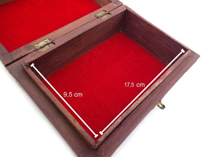 Caixa Porta Baralho MDF 20 cm