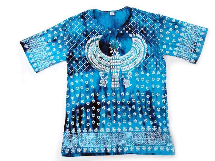 Camiseta Indiana Masculina Águia Azul G