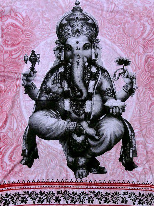 Camiseta Ganesha Masculina - Rosa G