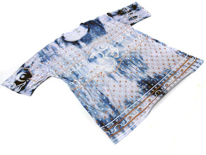 Camiseta Indiana Masculina OM Branco G