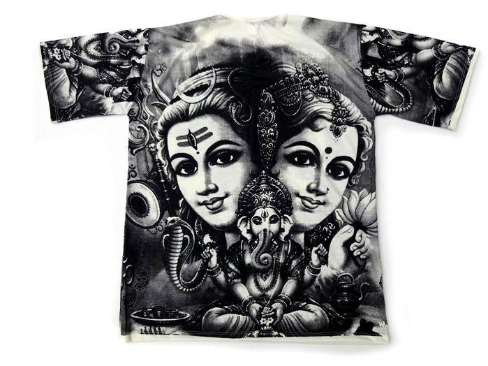 Camiseta Indiana Masculina Shiva G