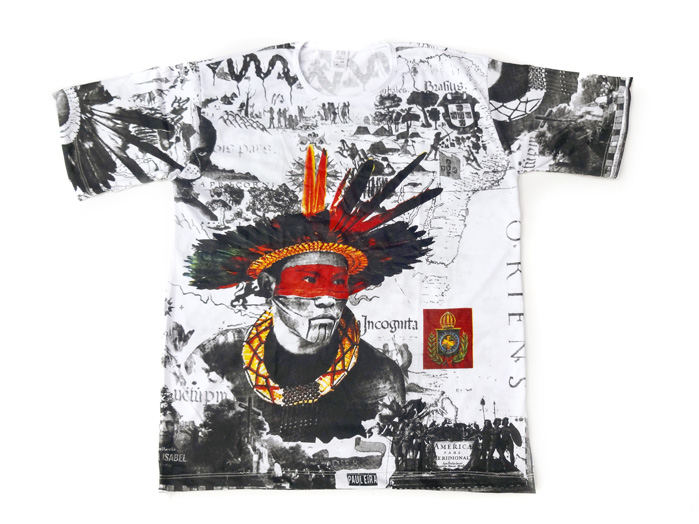 Camiseta Índio Brasileiro Unissex