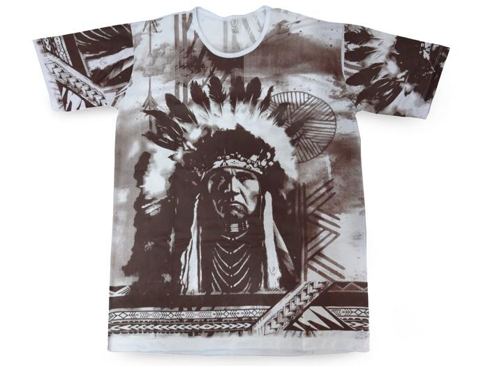 Camiseta Índio Marrom