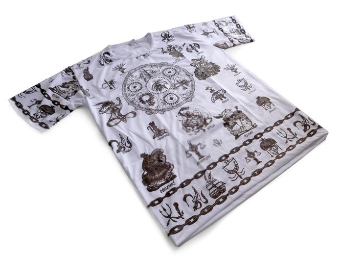 Camiseta Todos os Orixás Unissex