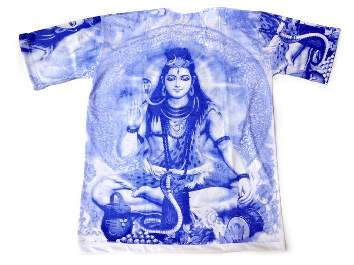 Camiseta Indiana Shiva Azul Unisex