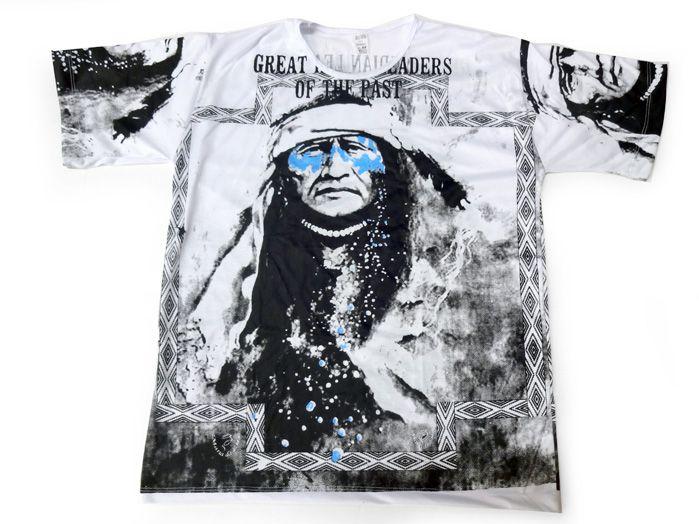 Camiseta Índio Americano - Unissex