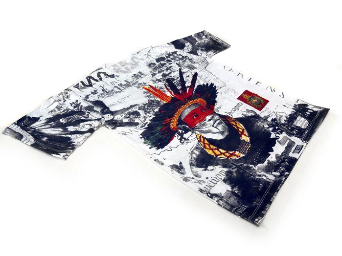 Camiseta Índio Brasileiro - Unissex
