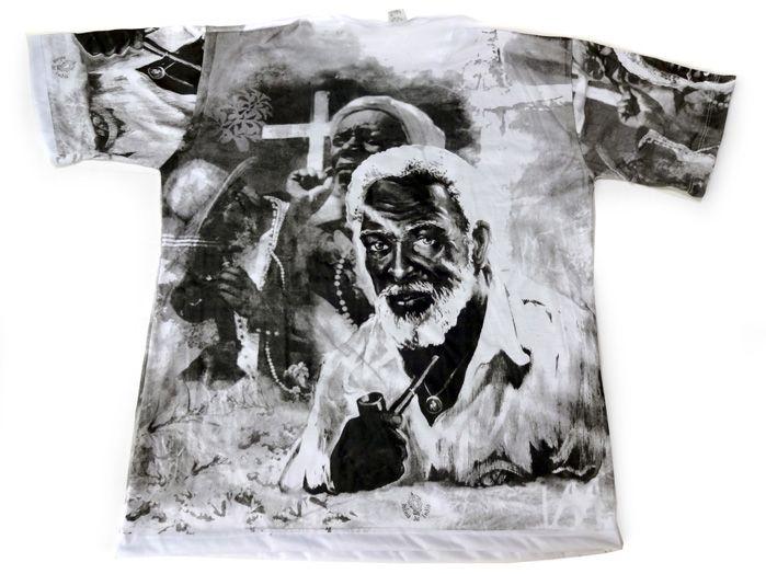 Camiseta Preto Velho - Unissex