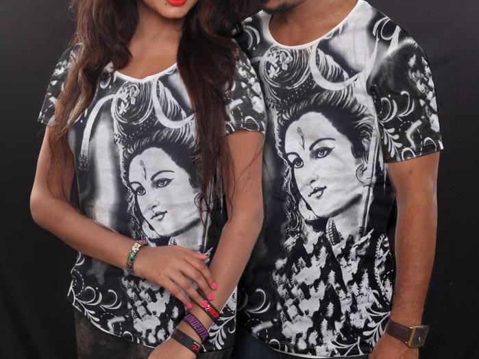 Camiseta Unissex Indiana Shiva