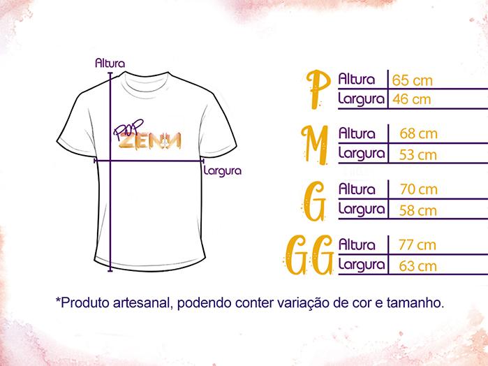 Camiseta Unissex Orixa Oxum