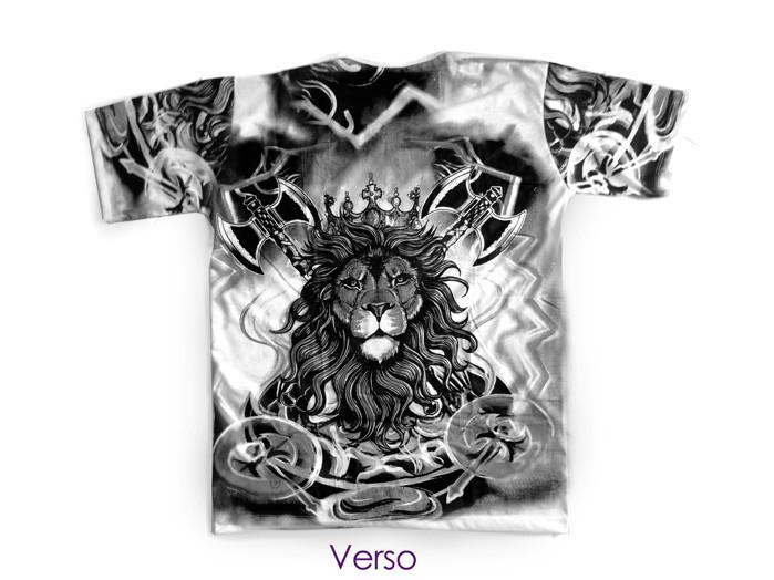 Camiseta Xangô Grande Leão Unissex