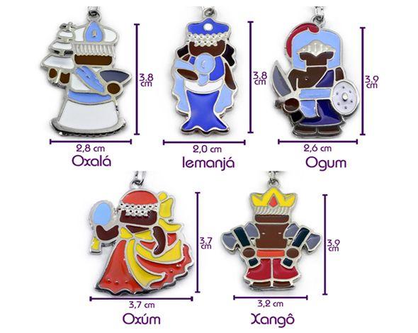 Chaveiro Oxum