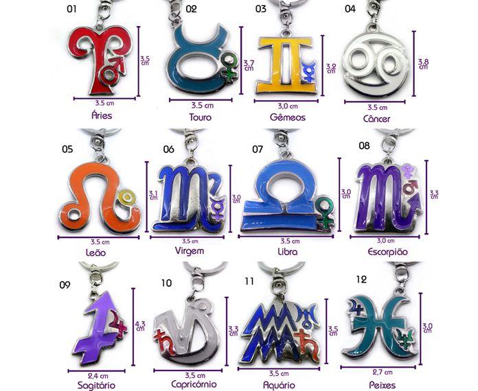 Chaveiro Astrologia Peixes