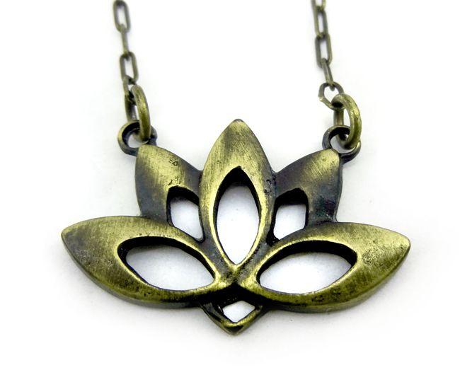Colar Flor De Lotus