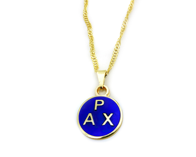 Colar Pax Dourado