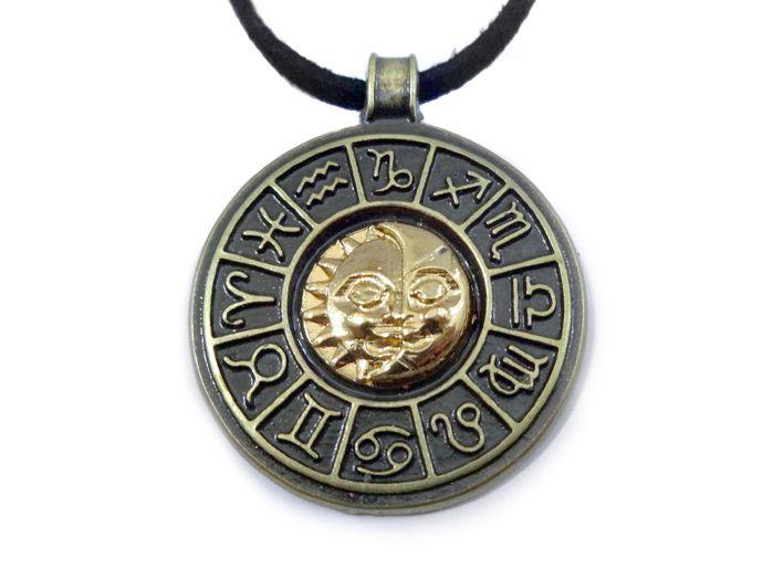 Colar Roda Astrológica - Zodíaco