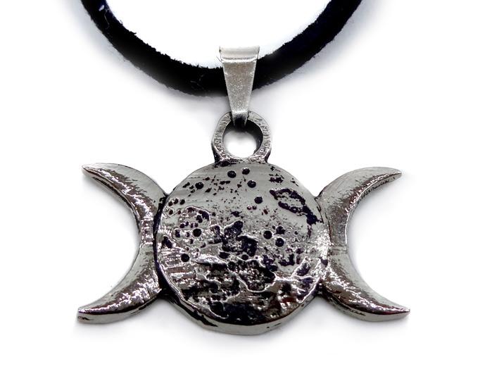 Colar Triluna Wicca III