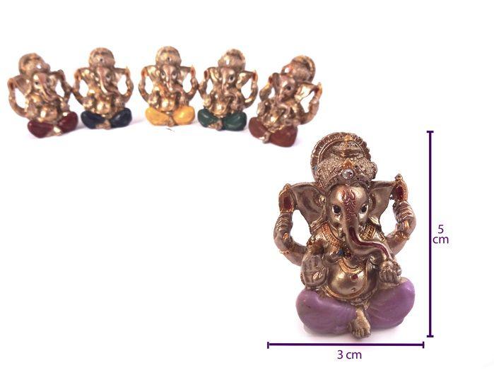 Conjunto Mini Ganesha Bronzeado